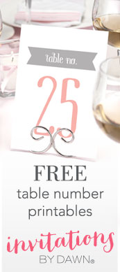 Free Table Number Printables Bottom