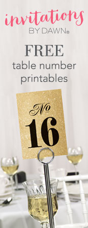 Free Table Number Printables Middle