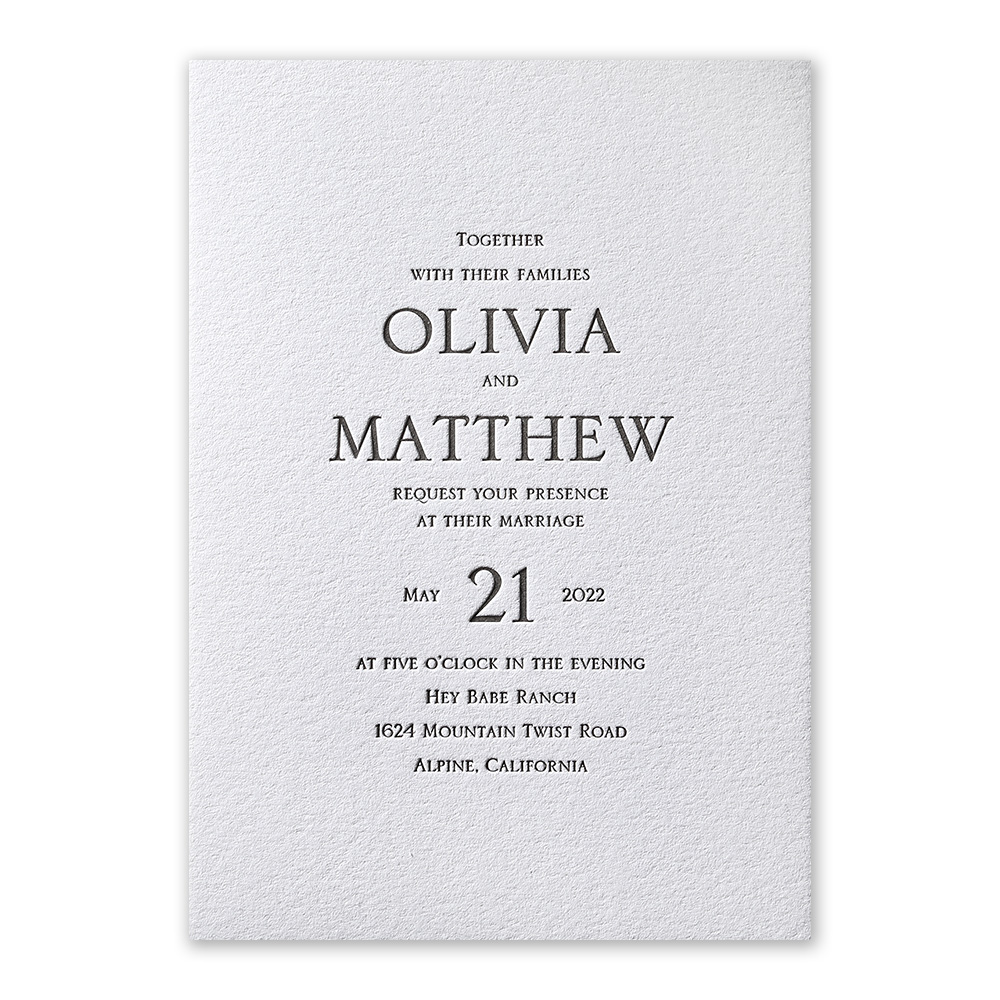 How to Choose the Right Wedding Invitation Fonts | Invitations by Dawn