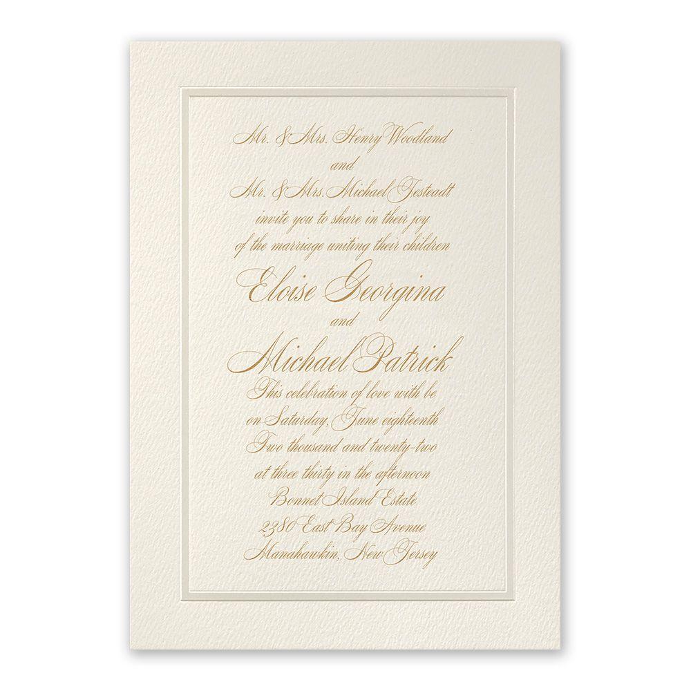 Supreme Tradition - Invitation