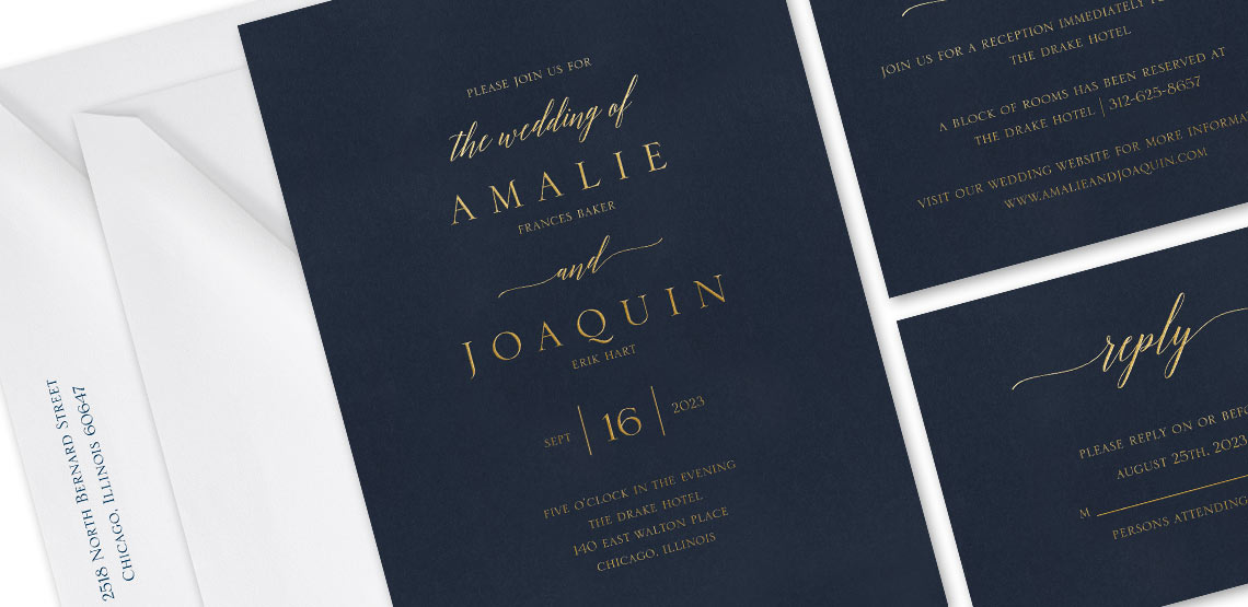 How to Word Your Invitation When You're Paying for Your Own Wedding | Invitations by Dawn