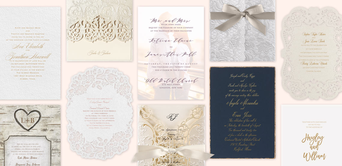 10 Reasons to Order Wedding Invitations Online