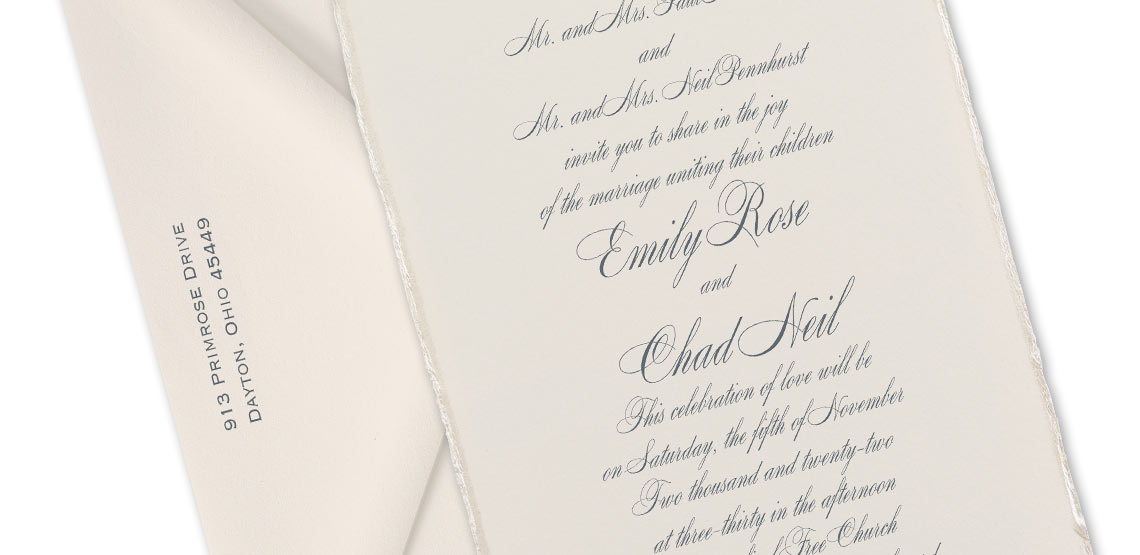 10 Tips for Wording Formal Wedding Invitations