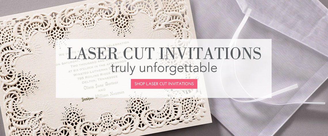 Laser Cut Invitation 1