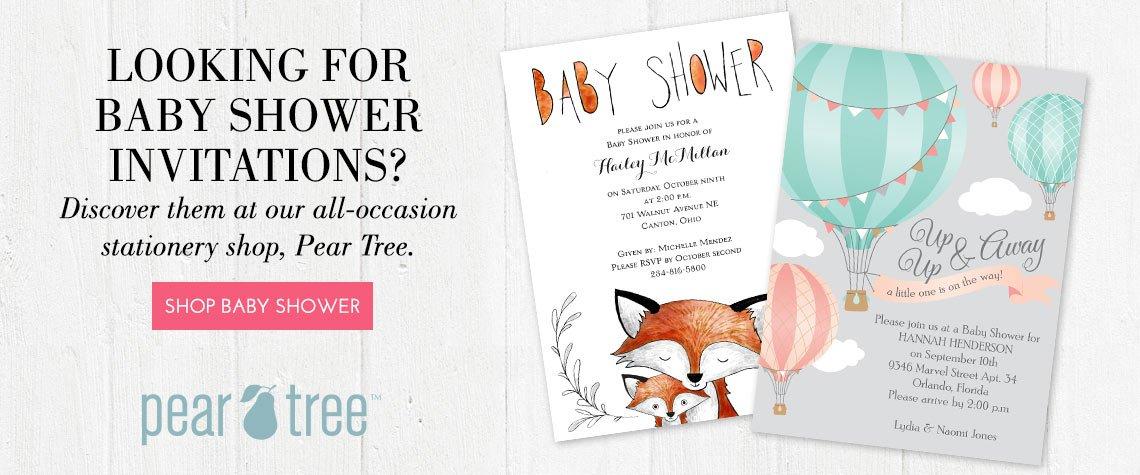 Baby Shower Invitations | Gender Reveal