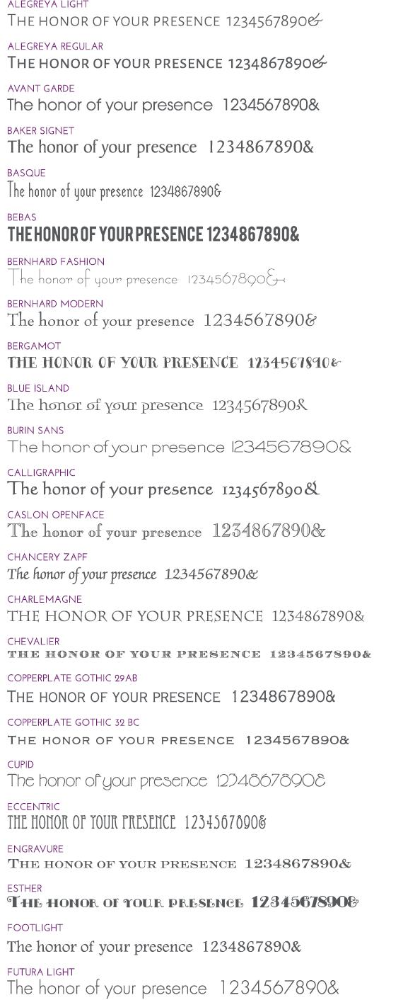 Block Fonts 1