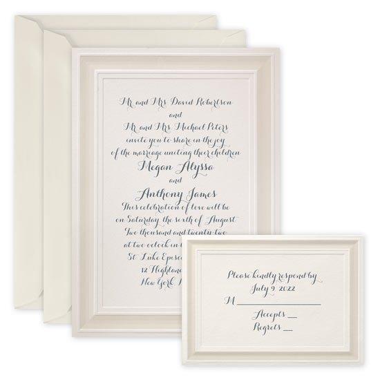 Cream Wedding Invitations