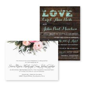 Petite Wedding Invitations