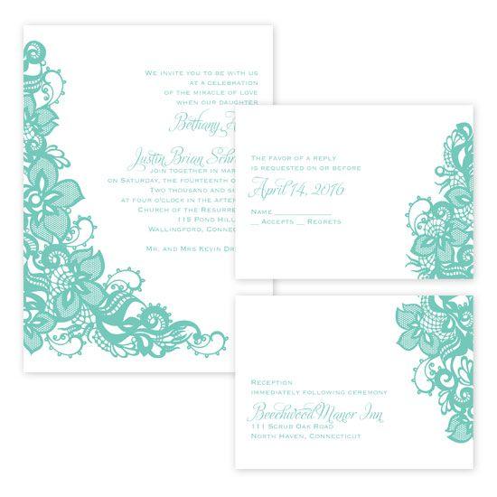 3 for 1 Wedding Invitations