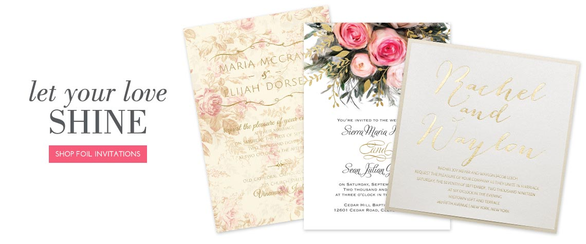 Wedding Invitation Types