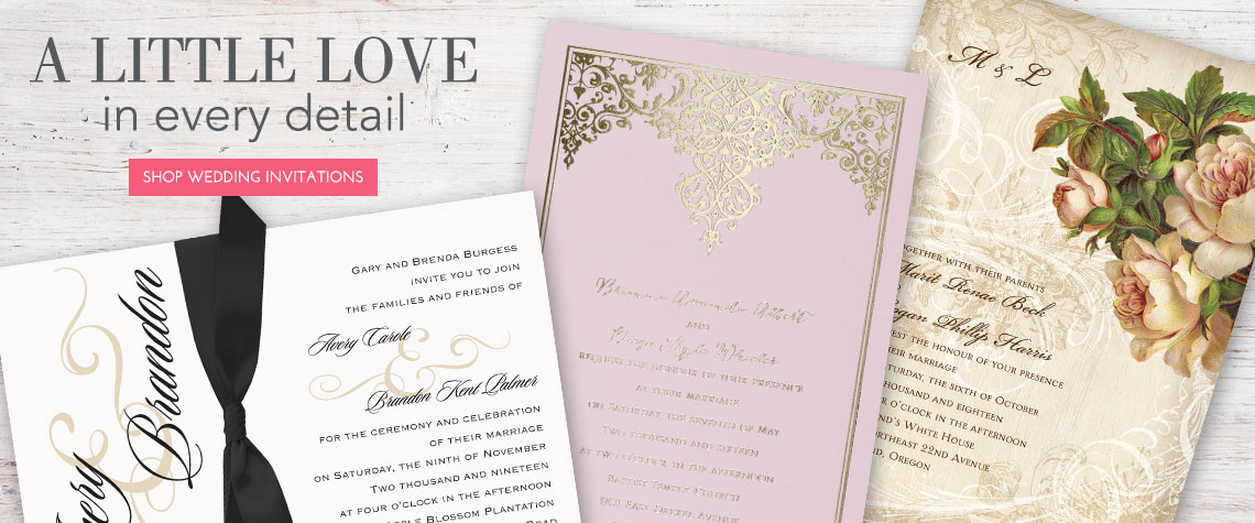 Shop By Invitations