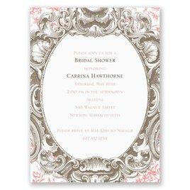 Fancy Frame - Petite Bridal Shower Invitation