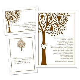 Tree of Love - 3 for 1 Invitation
