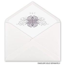 Lacy Flourishes - Envelope Liner