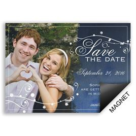 Save The Dates: Stargazing Save the Date Magnet