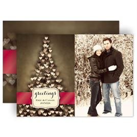 Holiday Cards: Tree of Love Photo Holiday Card