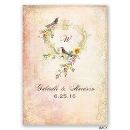 Vintage Birds - Invitation