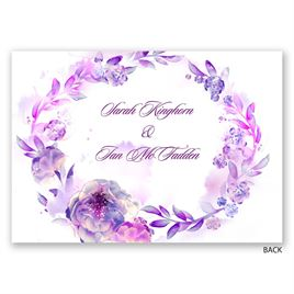Watercolor Dream - Grapevine - Invitation