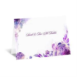 Watercolor Dream - Grapevine - Note Card and Envelope