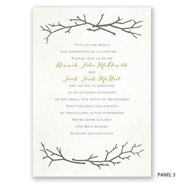 Beneath the Branches - Trifold Invitation