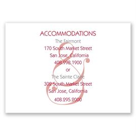 Happy Together - Accommodations Card