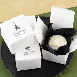 Personalized Cake Box - Top Personalization