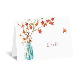Thank You Cards: Autumn Arrangement Thank You Card