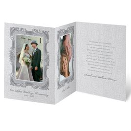 Anniversary Party Invitations: Sophisticated Sensation Anniversary Invitation