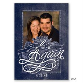 Love Eternal - Vow Renewal Invitation