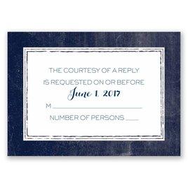 Wedding Response Cards: Love Eternal Response Card