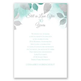Years Go By - Surf - Anniversary Invitation