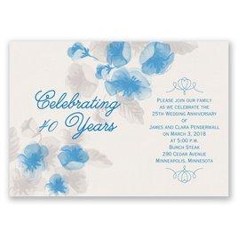 True Romance - Anniversary Invitation