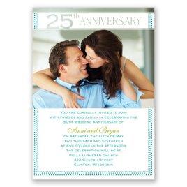 Grand Presentation - 25th Anniversary Invitation