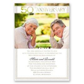 Grand Presentation - 50th Anniversary Invitation
