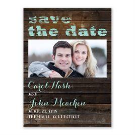 On Board - Save the Date Card