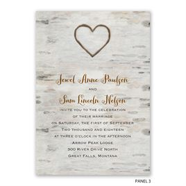 Love for Infinity - Trifold Invitation