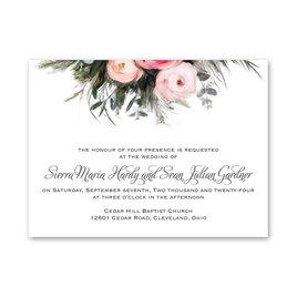 Spring and Summer Wedding Invitations: Ethereal Garden Petite Invitation