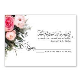 Wedding Response Cards: Ethereal Garden Response Card