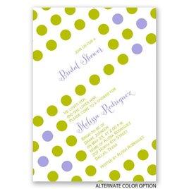 Polka Dot Party - Bridal Shower Invitation