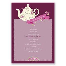 Time for Tea - Bridal Shower Invitation