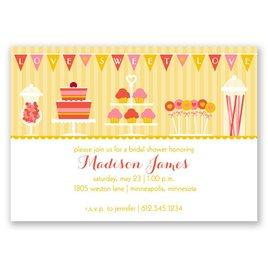 Love Is Sweet - Bridal Shower Invitation