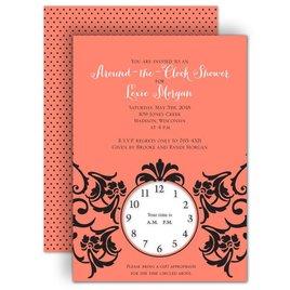 Vintage: Antique Dream Bridal Shower Invitation