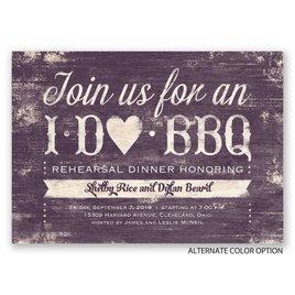 I Do BBQ - Rehearsal Dinner Invitation