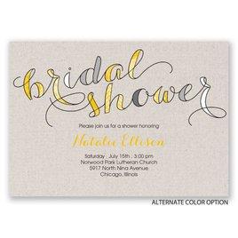 Eclectic Elegance - Bridal Shower Invitation