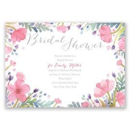 Pastel Floral - Bridal Shower Invitation
