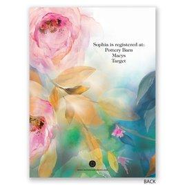 Watercolor Beauty - Petite Bridal Shower Invitation