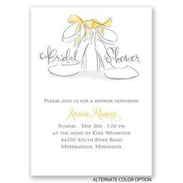 Wedding Shoes - Mini Bridal Shower Invitation