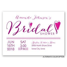 All Heart - Bridal Shower Invitation