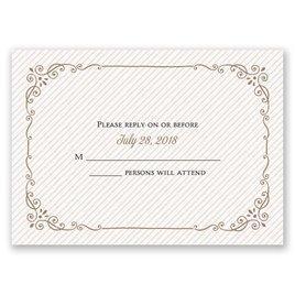 Wedding Response Cards: Always Will Response Card