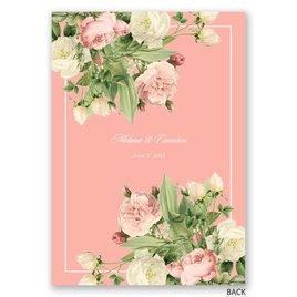 Brilliant Blossoms - Invitation